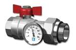 LK Ball Valve with thermometer Product image (LKS)