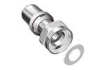 LK PressPex Straight Fitting with loose nut Product image (LKS)