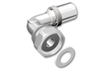 LK PressPex Elbow Fitting with loose nut Product image (LKS)