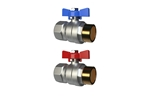 LK Ball Valve 434, straight Product image (LKS)