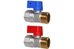 LK Ball Valve 427 Blue, straight Product image (LKS)