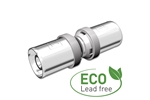 Eco Straight fitting AX16 Product image (LKS)