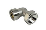 LK PushFit AX Elbow fitting with loose nut Product image (LKS)